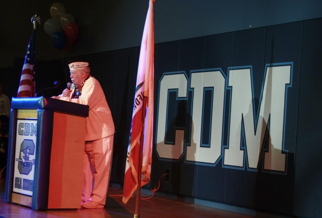 CdM Living History veteran luncheon speaker