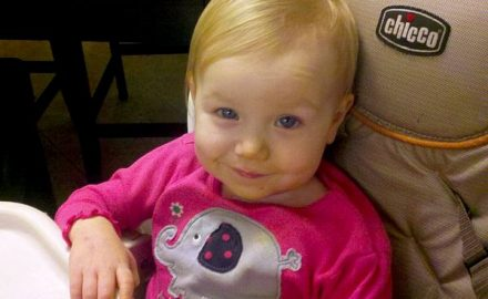 Piper Evans, 18 months, has an extremely rare autoimmune disorder, and friends, coworkers and strangers are coming together to raise funds for her treatment. Photo from the Evans family blog