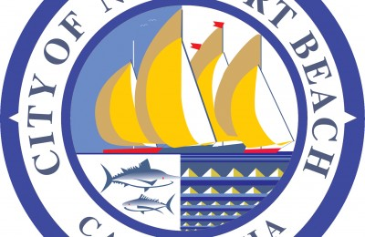 Newport Beach city logo NB