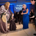 Make-A-Wish Orange County and Inland Empire CEO Stephanie McCormick and Chairman Michael Rapacz dance with wish child Avery and her mom at the gala.   Photo courtesy Make-A-Wish OC & Inland Empire