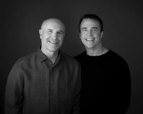 Jim Burns (left) and Doug Fields