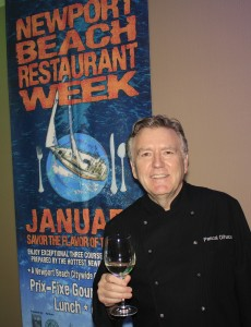 Chef Pascal Olhats of Brasserie Pascal and Cafe Jardin.