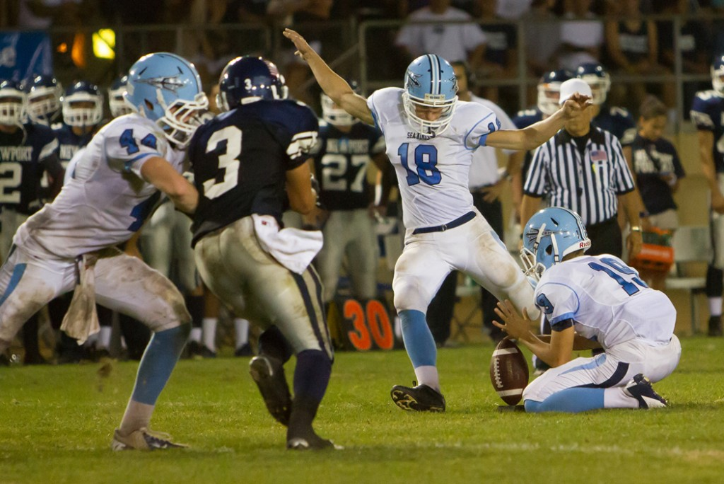 Corona del Mar High's Griff Amies tied the state record for the most field goals in a season (22), and CdM won its division in the CIF playoffs.