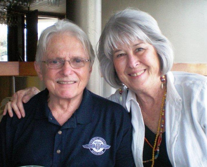 "Lt. Col. (Ret.) Vernon ""Doc"" Wagner and my mom Diane Magrina"
