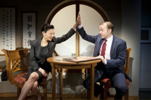 Michelle Krusiec and Alex Moggridge in South Coast Repertory's 2