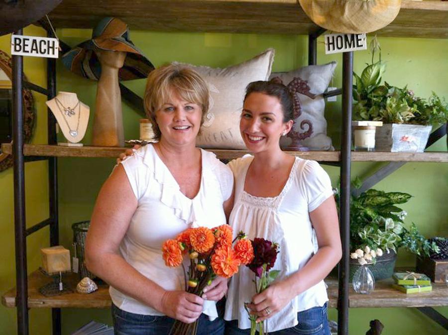 Karen Yould and Gina Godwin