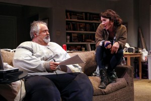 "Matthew Arkin and Helen Sadler in ""The Whale,"" now playing at SCR."