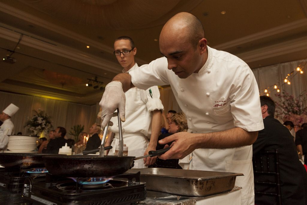 Chef Alfred Prasad of Tamarind of London, Newport Coast