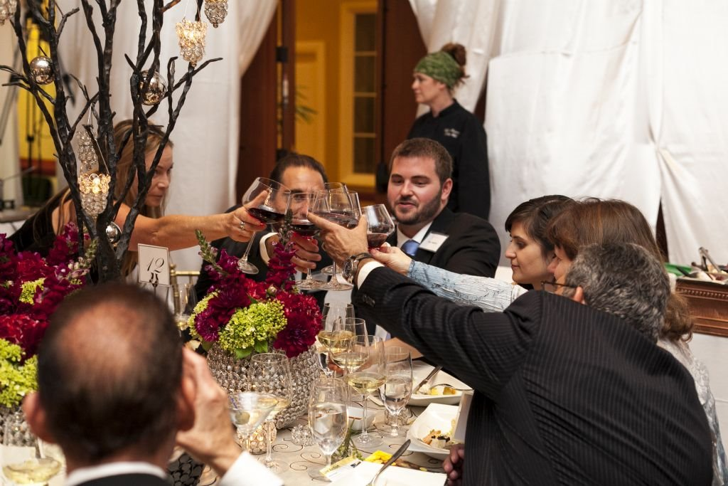 Benefit 6: Guests make a toast to the chef