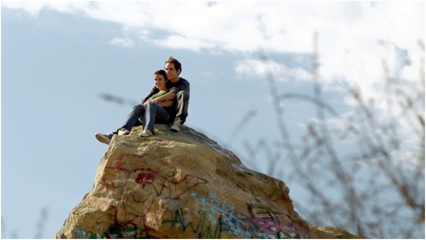 Co-stars Jenna Kanell and Doug Penikas