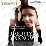 """Blood Type: Unknown"" poster"