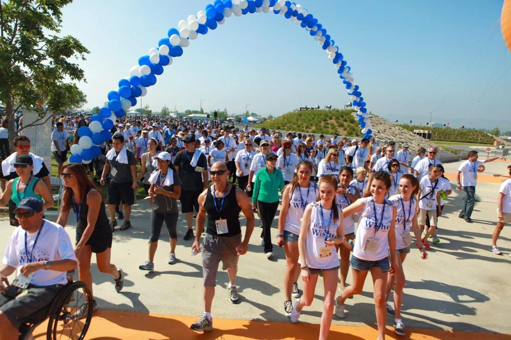 The Orange County Make-A-Wish 2012 Walk for Wishes event. — Photo by Bob Ortiz