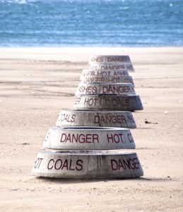 Hot..hot...staying or going — Photo by Betsy Jackson