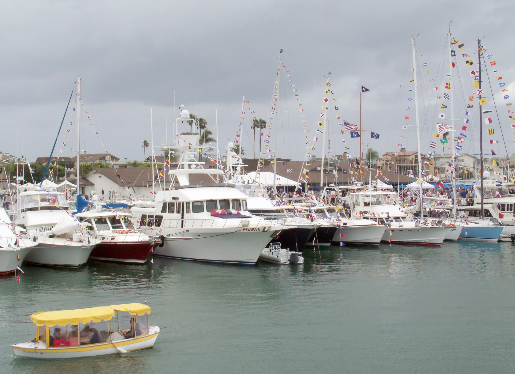 Newport local news boating season commences newport for Newport harbor fishing