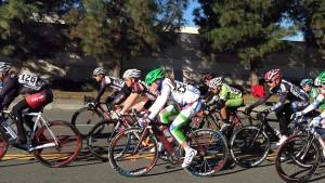 Tanner racing Tour de Murrieta women's pro race in March. — Photo by Jet Tanner