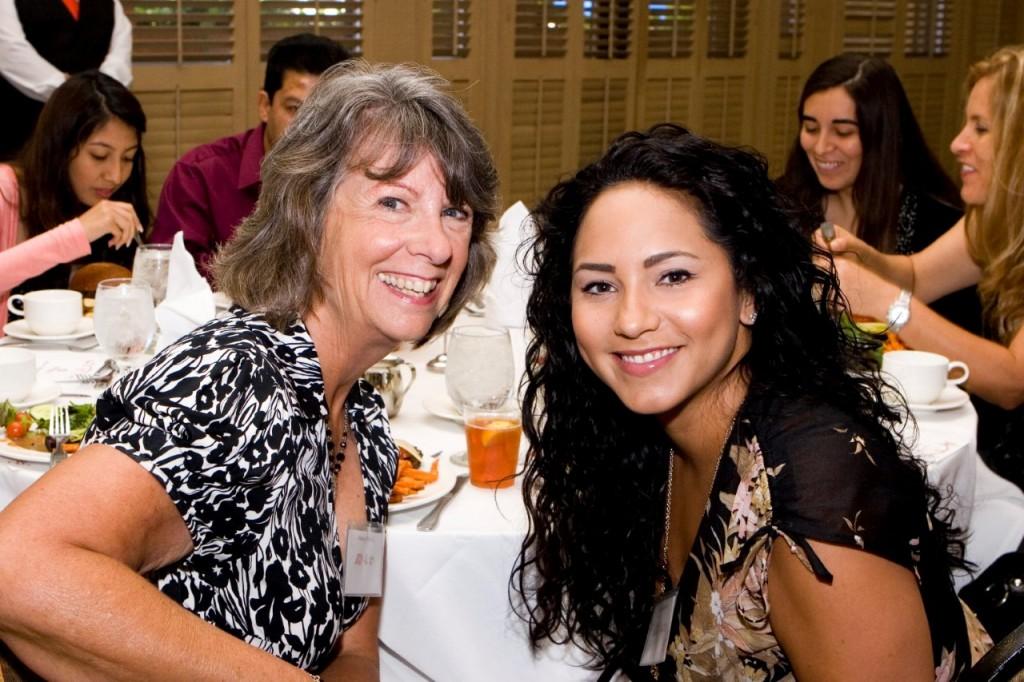 Nancy Altobello and Lindsay Livana