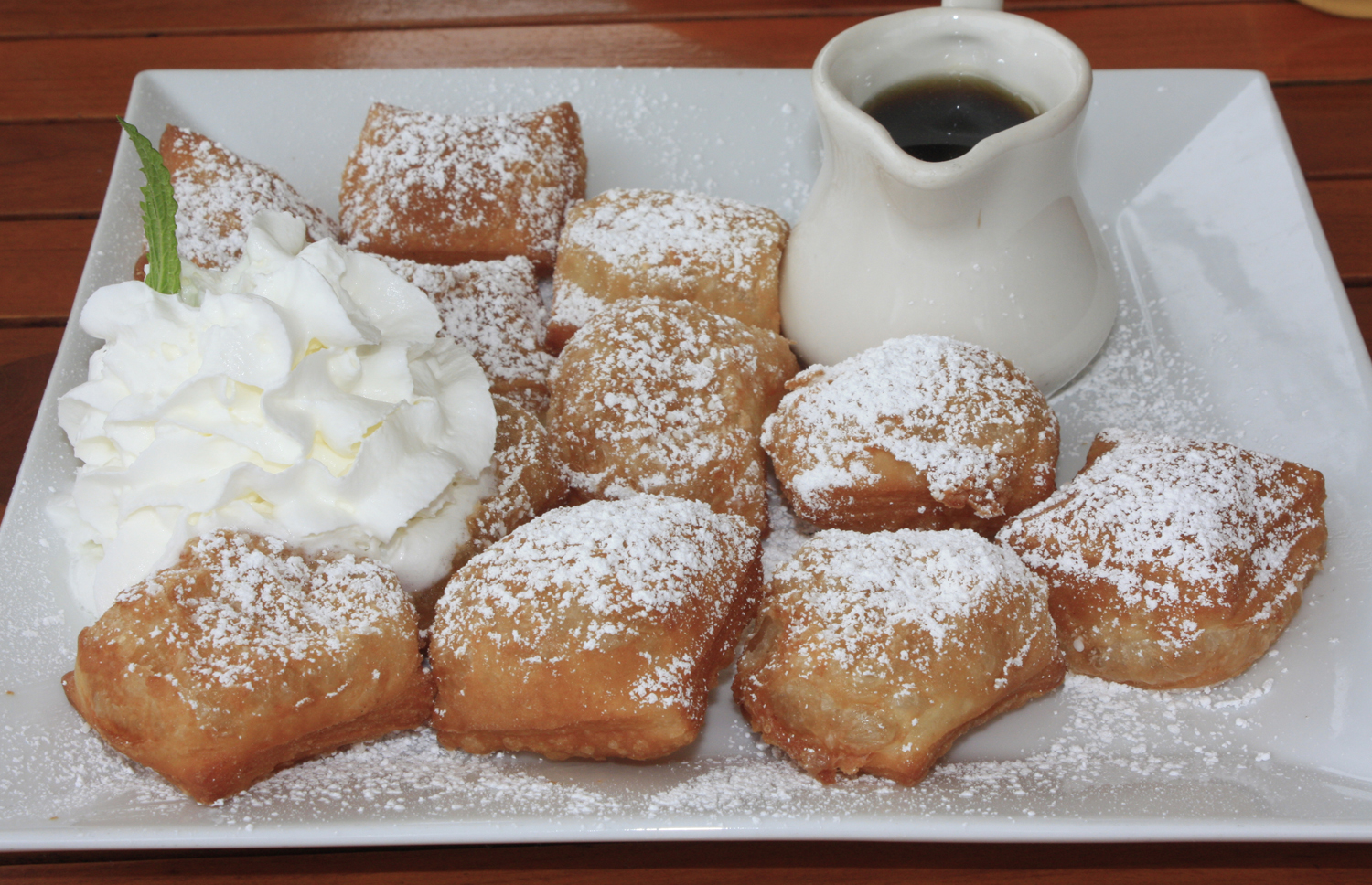 "We've had the beignets, so we know those are good,"" noted ..."