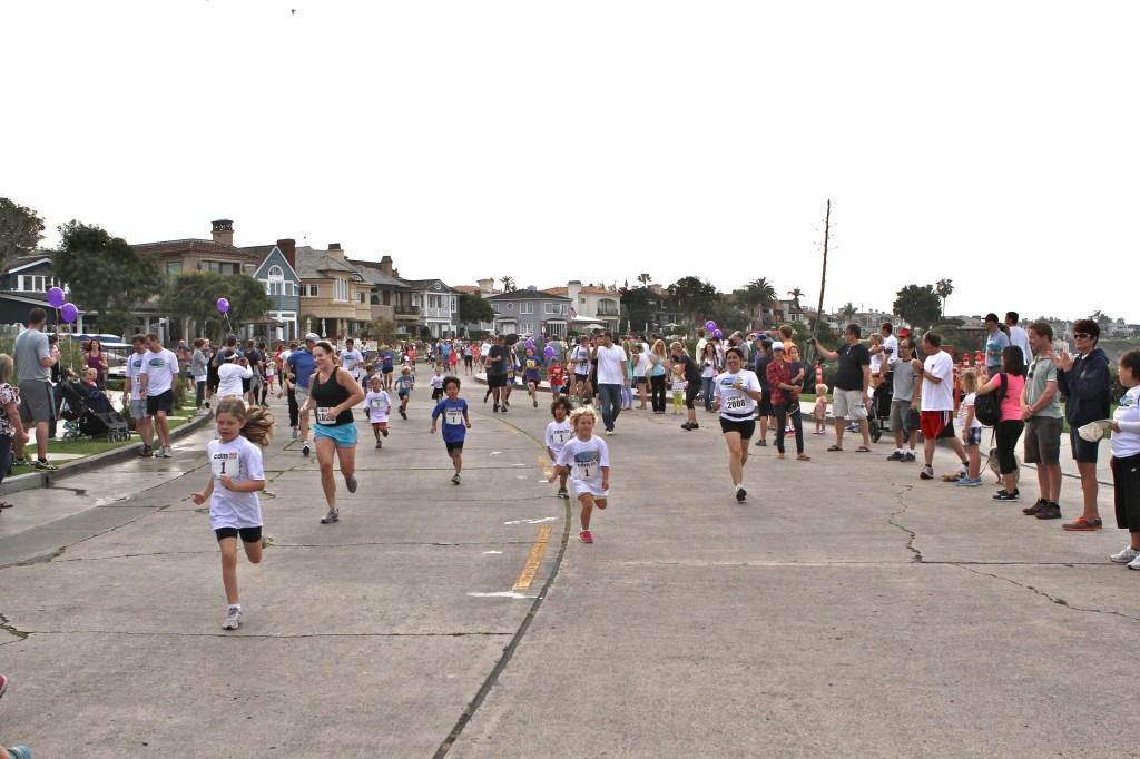The Kids race. — Photos by Jim Collins