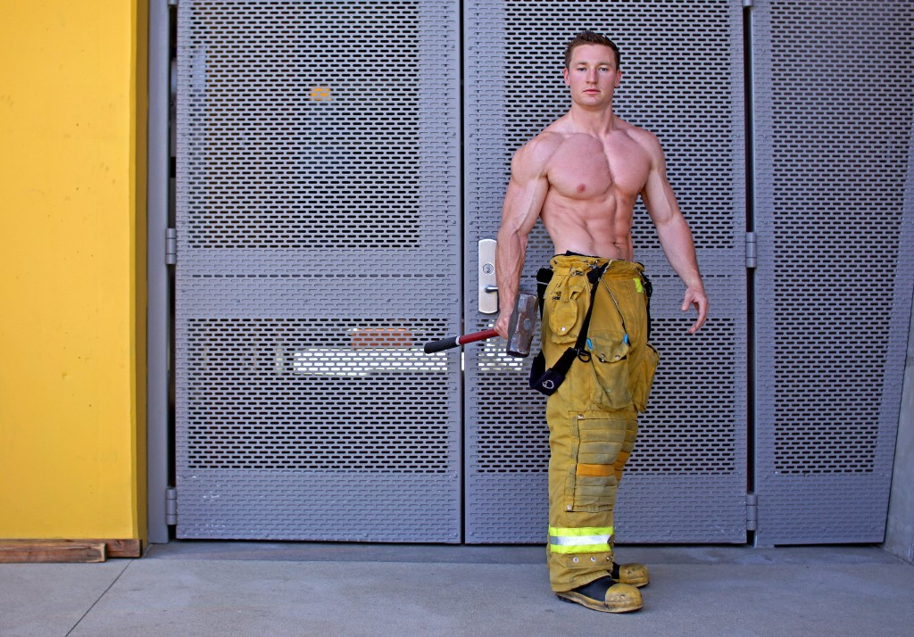 Tim Cody will be up for auction at the 11th Annual Firefighter Bachelor Auction on July 13. — Photos by KatyErin Photography