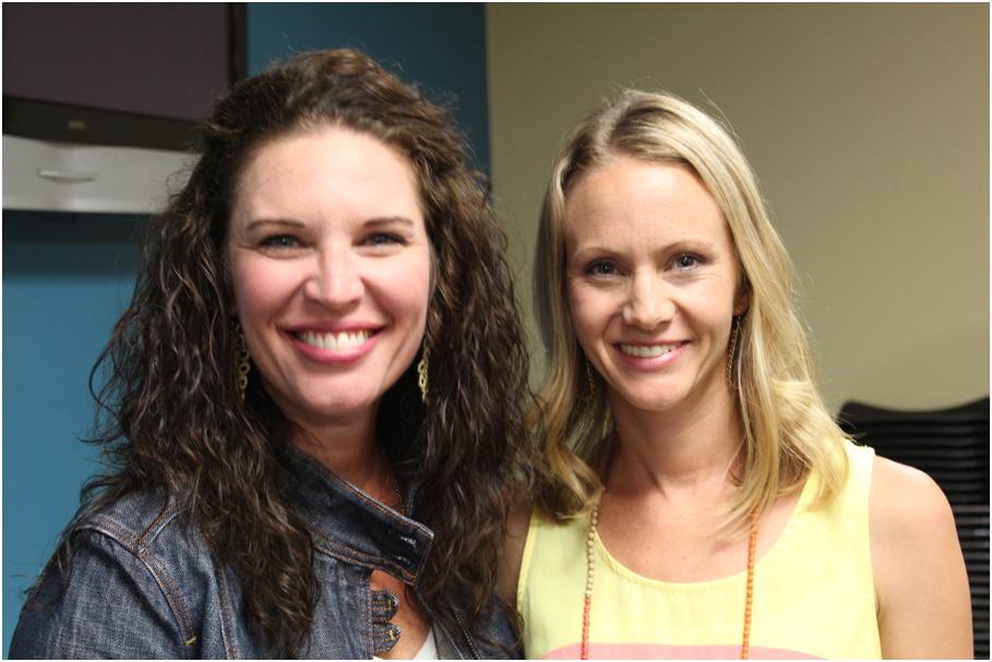 Jen Hatmaker and Kaitlyn McCarty — Photo by LIndsay Maracine