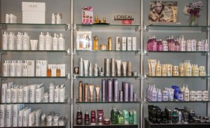 Some of the products offered at Ashtin Salon.