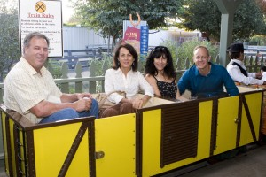Guests were able to ride the Zoofari Express Train which brings a behind-the-scenes view of the Zoo.