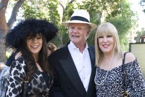Patti Mickey, Tom and Sharon Jackson
