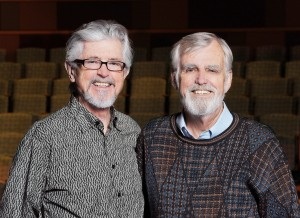 South Coast Repertory's Founding Artistic Directors David Emmes and Martin Benson