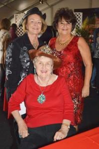 Kay Burra, Bobbitt Williams and Margo Ferris