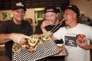 Stan Frazier, Chef Trevor, Andy Hong
