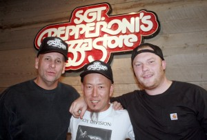 Stan Frazier, Andy Hong, Chef Trevor