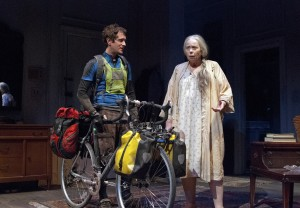 Matt Caplan and Jenny O'Hara in South Coast Repertory's 2013 pro
