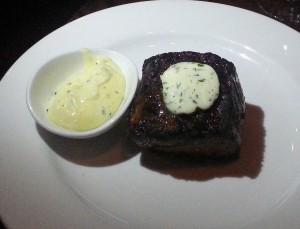 Steak at A Restaurant
