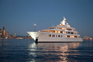 Aug:  The city approved special permits to allow two mega-yachts to temporarily moor in the harbor.