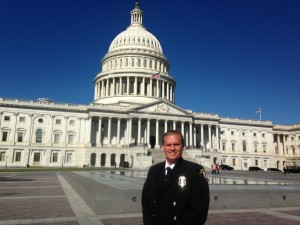 Sept: Newport Beach Fire Department's Life Safety Specialist Matt Brisbois was honored for disaster preparedness at the White House.