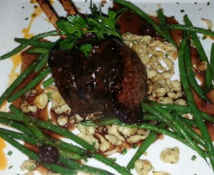 Venison at the Winery