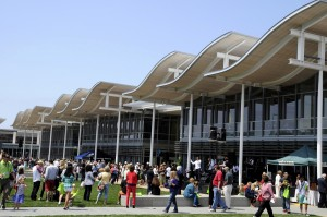 May: Grand opening of the new Civic Center and Park