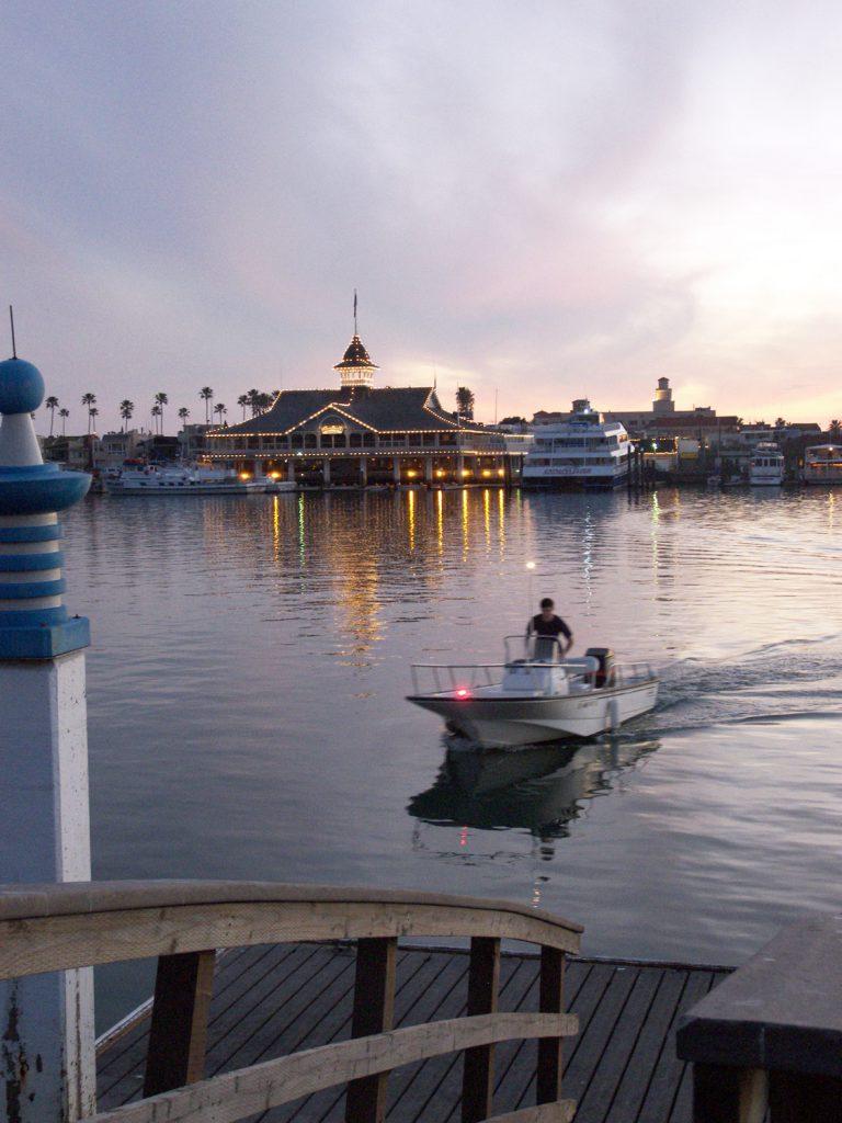 A public pier on Balboa Island. — Photo by Christopher Trela