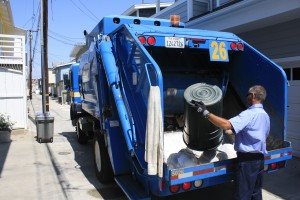 April: City sought bids to privatize the city's residential trash collection.