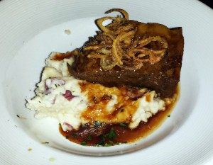 Short ribs at The Bungalow