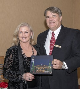 Donna Dibari, winner of Best Theme, and Don Lawrenz. Photo by Charles Weinberg.