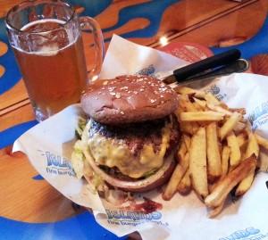 Island's Big Wave burger