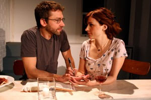 "Michael Weston and Aya Cash in ""Trudy and Max in Love"""