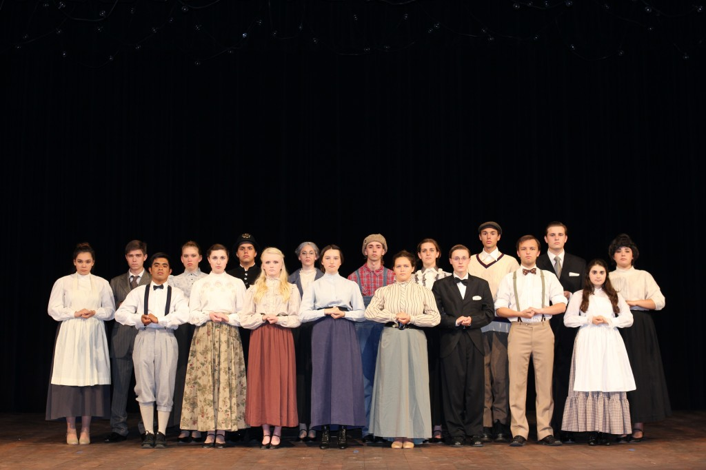 Our Town cast photo. — Photo courtesy Steve Stary