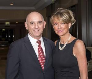 Steve and Gina Rosansky. Photo by Charles Weinberg.