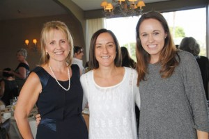 Left to right- Carrie Olson, Christine Caine, Kristen Morse. Photo credit: Tracey Martin