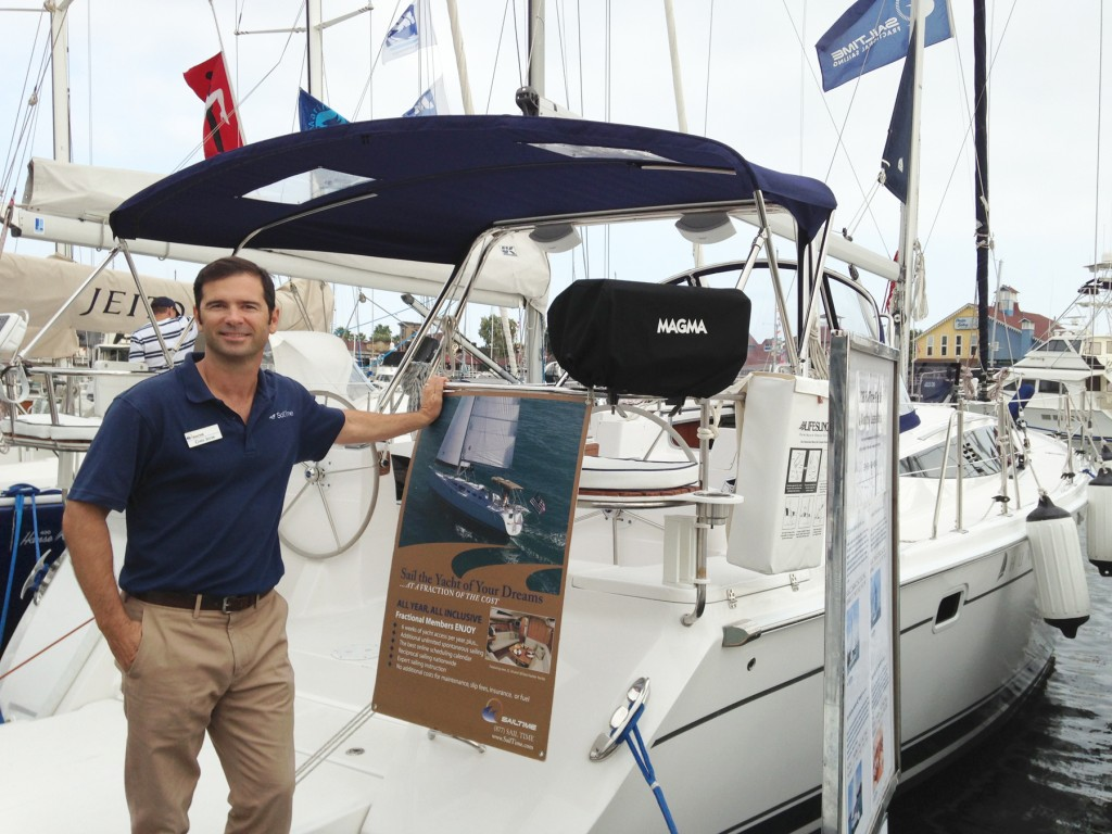 Chris Jester, base manager for SailTime Newport Beach
