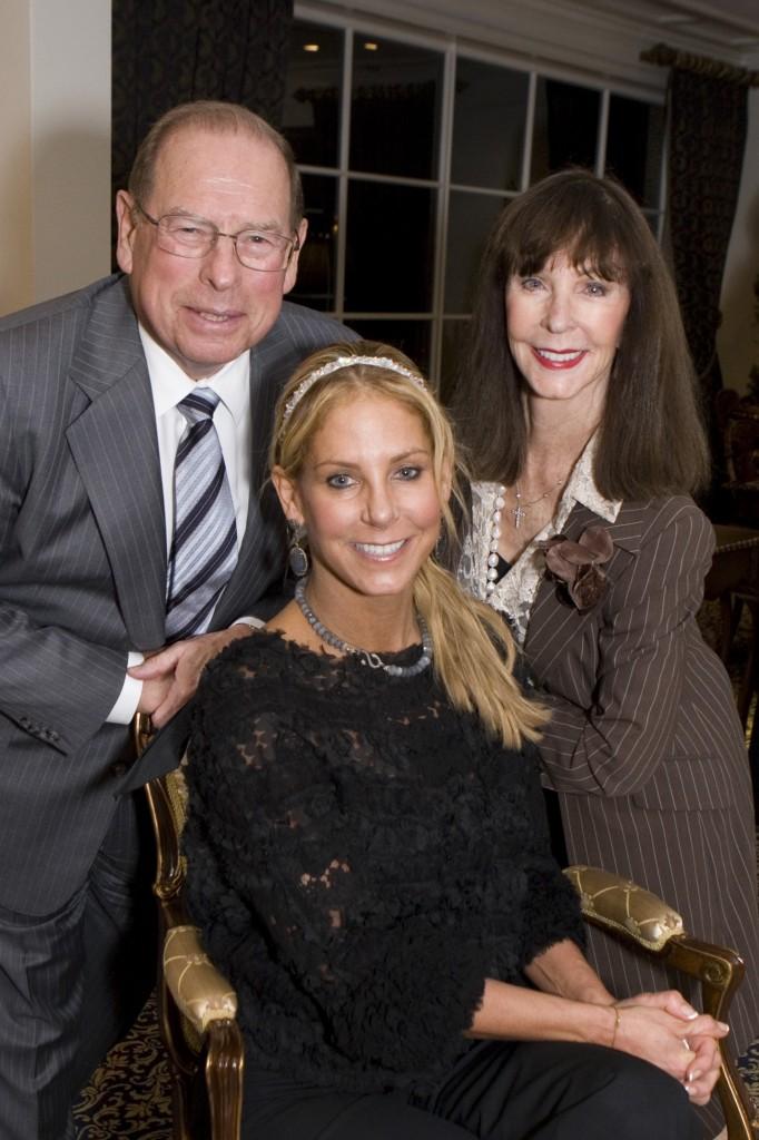 George, Julia and Stephanie Argyros.