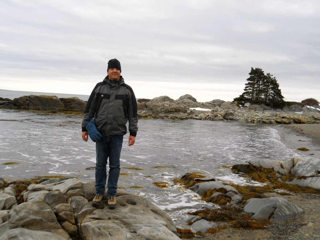 Science teacher Jean-Paul Rimlinger in Nova Scotia.