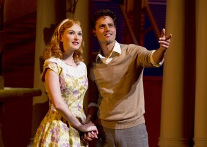 "Erin Mackey and David Burnham in ""Light in the Piazza"""